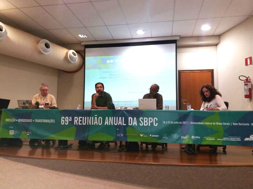 Educação pública e comunicação são tema de conferência na 69ª SBPC
