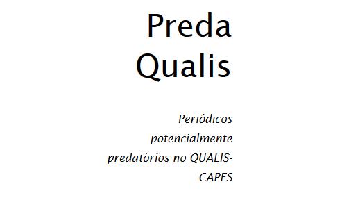 Site Mapeia Periódicos Potencialmente Predatórios Na Base QUALIS