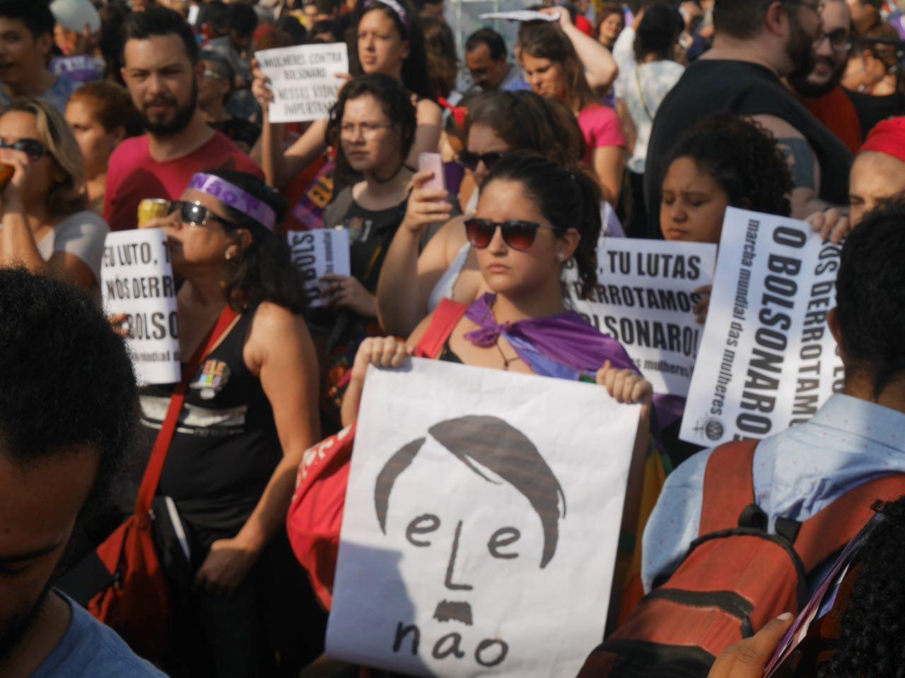Mulheres Em Ato #eleNão Em São Paulo. Foto Fernanda Carvalho/FotosPublicas