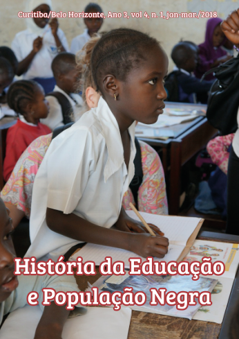 História da educação da população negra – Ano 3, v.4, n.1 Jan-Mar/2018