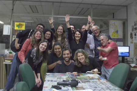 Equipe Do PEPB Na Comemoração De Aniversário De 10 Anos Do Programa De Rádio