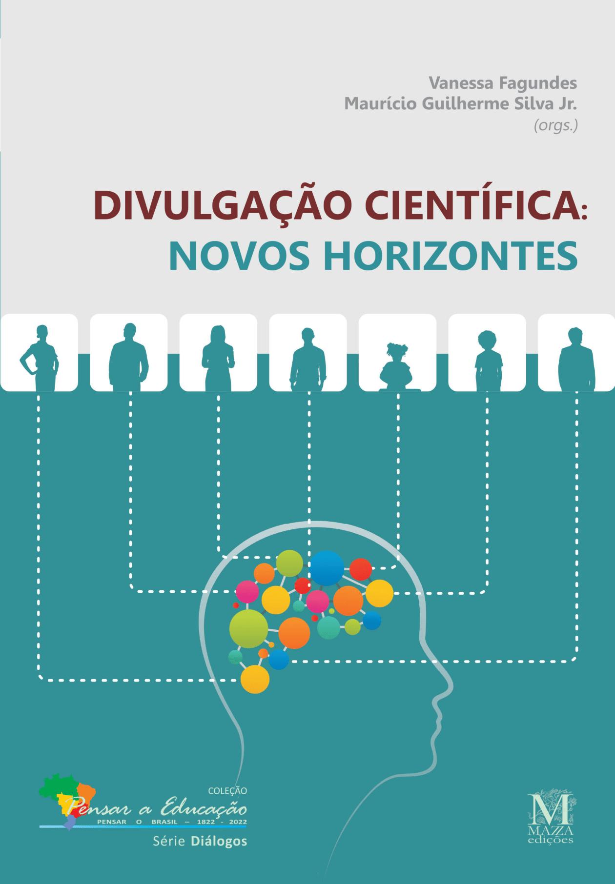 Capa do livro Divulgação Científica: Novos Horizontes