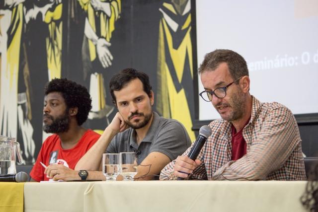 Leonardo Péricles E Sérgio Martins (UFMG) Na Conferência O Direito à Cidade Entre Debate E Ação – 31 08 2017