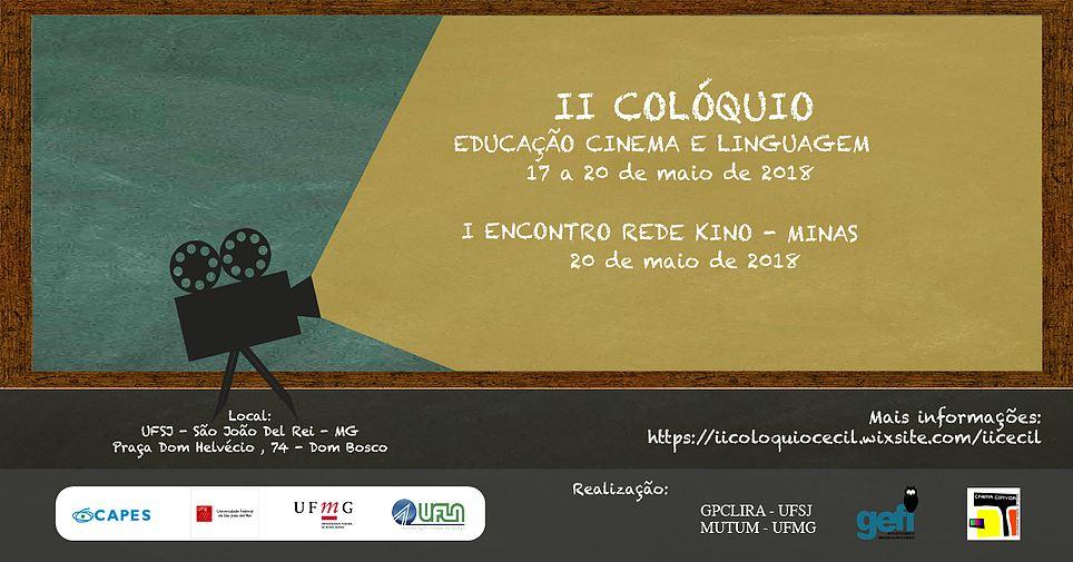 II Colóquio Educação, Cinema e Linguagem