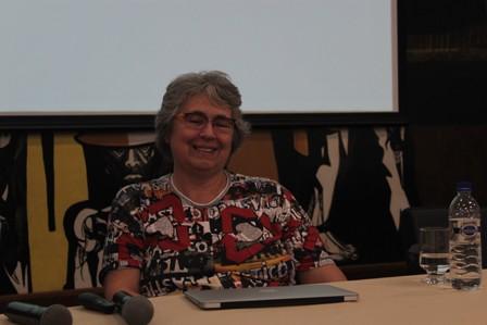 Professora Regina Helena. Foto: Thiago Rosado