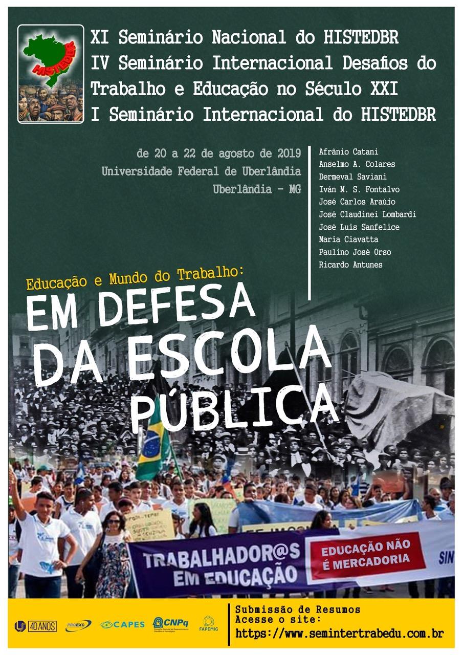 Educação e Mundo do Trabalho: Em Defesa da Escola Pública