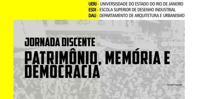 Jornada Discente Patrimônio, Memória E Democracia