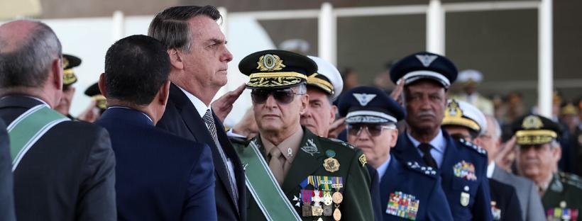 Bolsonaro E Lideres Das Forças Armadas – Marcos Corrêa PR..