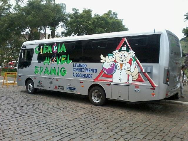Ônibus Ciência Móvel Epamig 2