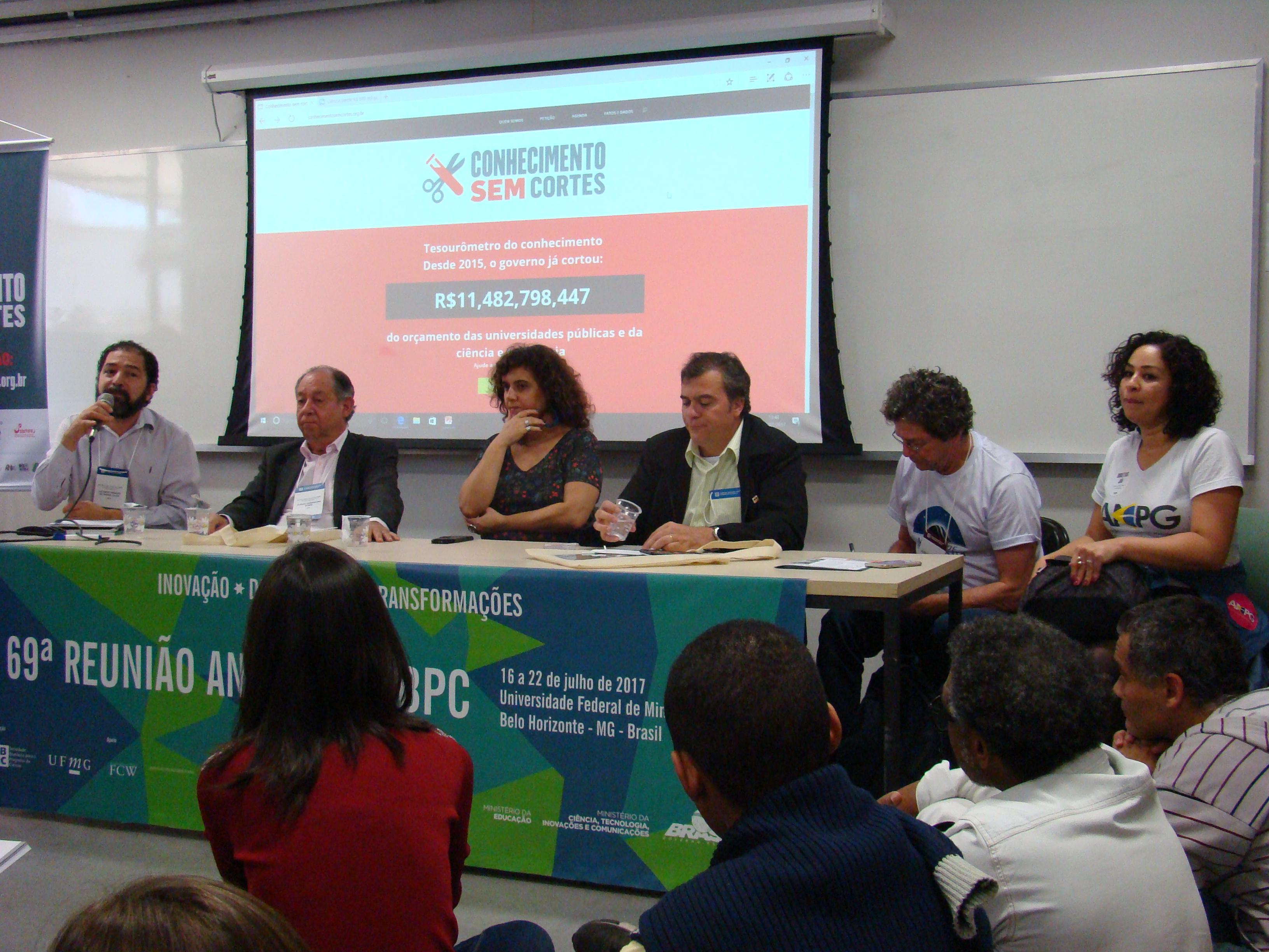 Por Mais Investimento Em CTI, Diversas Entidades Científicas Se Reúnem Em Belo Horizonte
