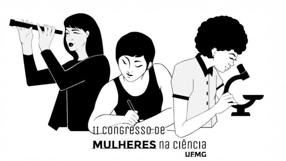 Cartaz Do 2º Congresso De Mulheres Na Ciência