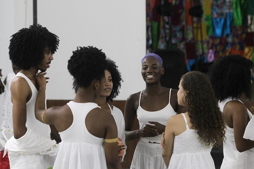 01/11/2017- Bahia- Escola De Dança Da Funceb Lança Núcleo De Estudos Em Danças Afro-brasileiras. Foto: Paula Fróes/GOVBA