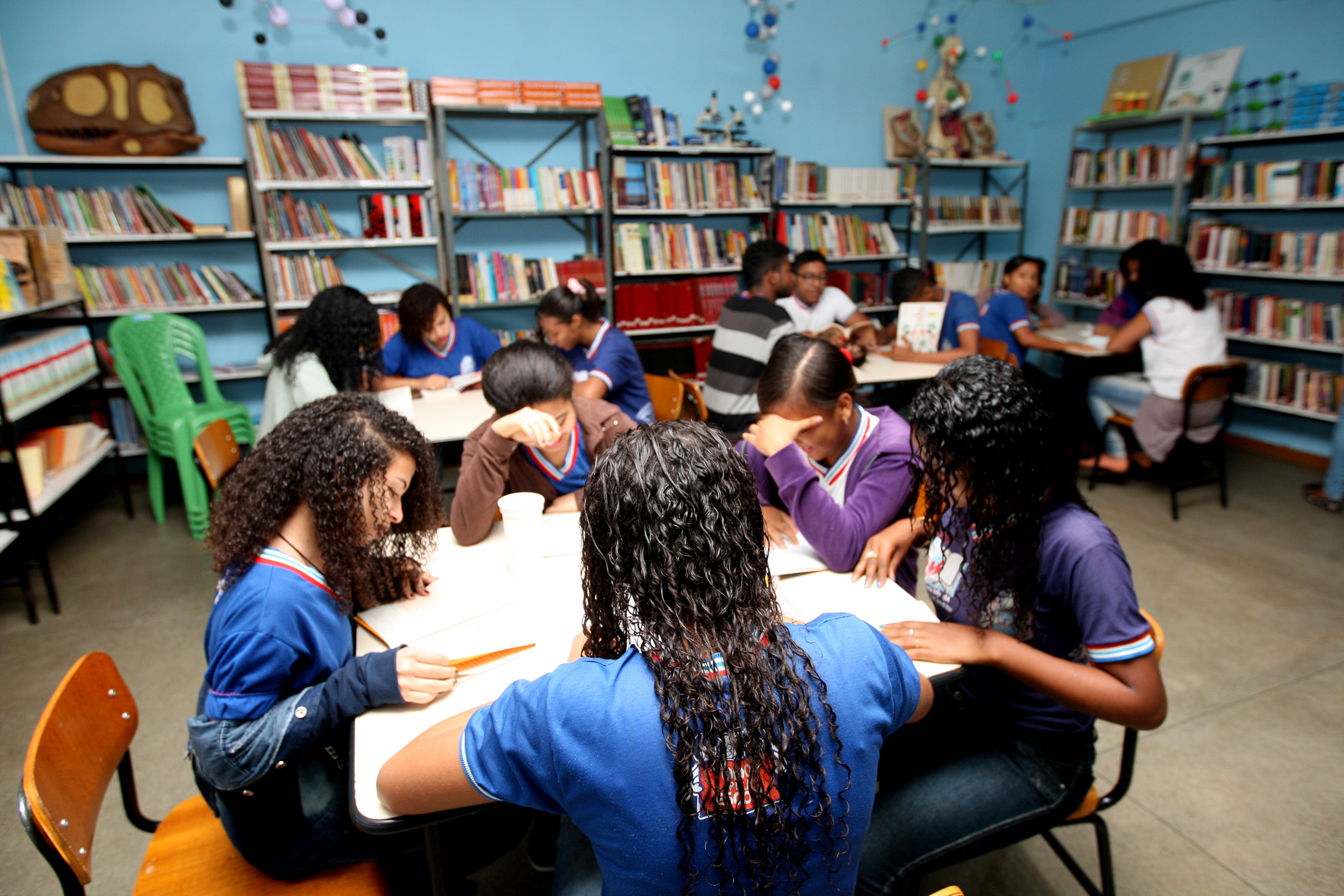 Colegio Estadual Antônio Carlos Magalhães,na Cidade De Santa Inês  Foto: Elói Corrêa/GOVBA