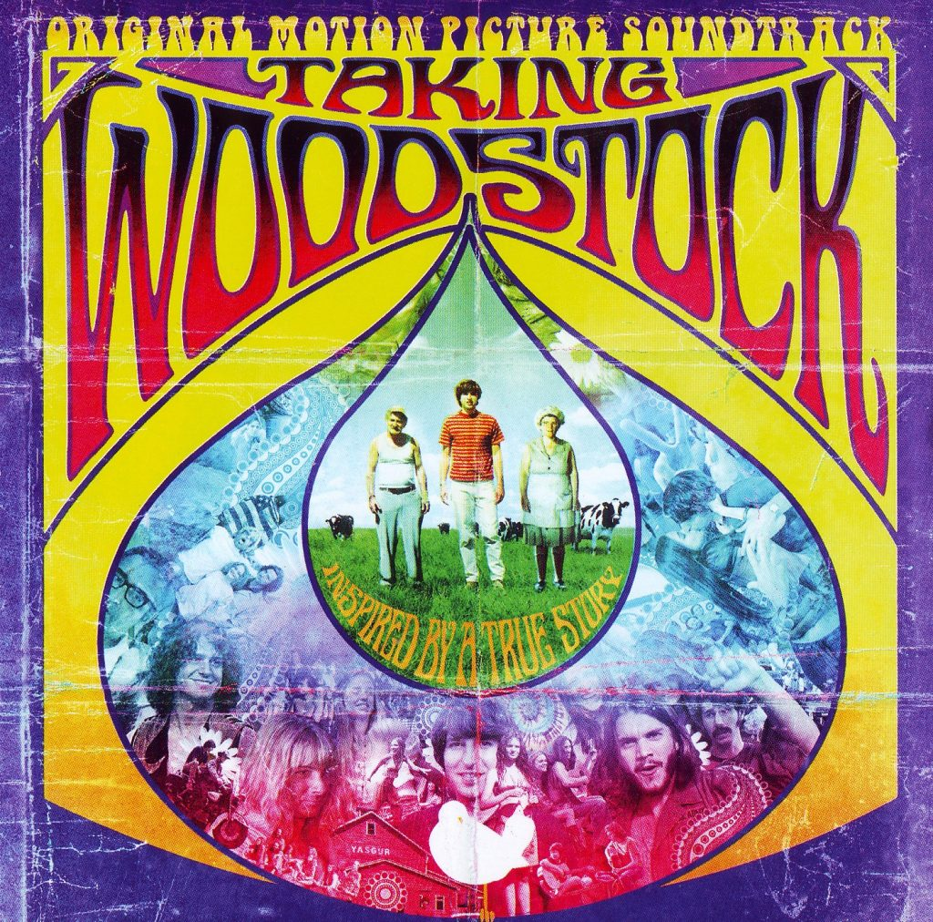Pôster do filme Taking Woodstock