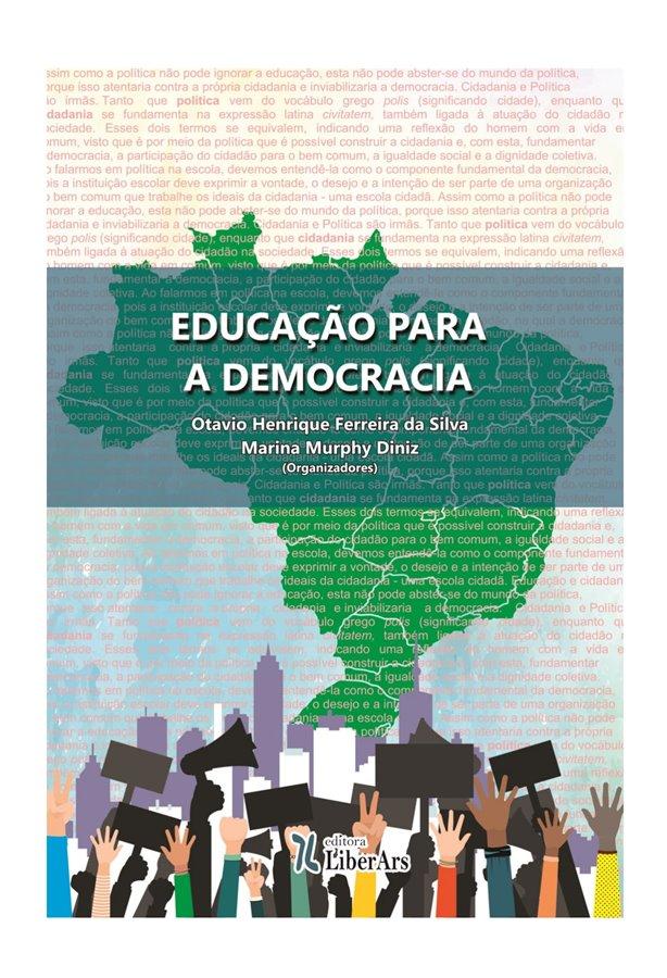 Convite à Leitura – Ademilson De Sousa Soares – Sobre O Livro EDUCAÇÃO PARA A DEMOCRACIA