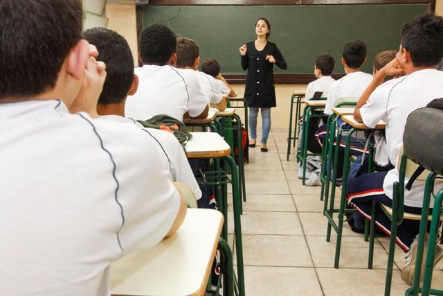 Vola às Aulas Na Escola Estadual Tiradentes. Curitiba, 10/06/2015. Foto: Pedro Ribas/ANPr