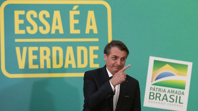 (Brasília - DF, 20/05/2019) Presidente Da República, Jair Bolsonaro.nFoto: Marcos Corrêa/PR