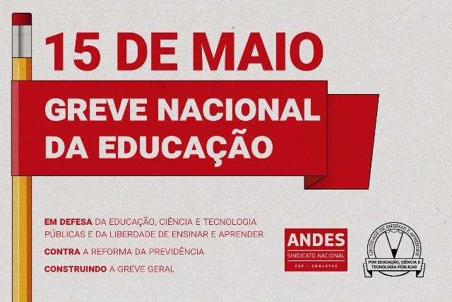 Vagner Luciano Andrade – Img De Destaque – Greve 15 Maio