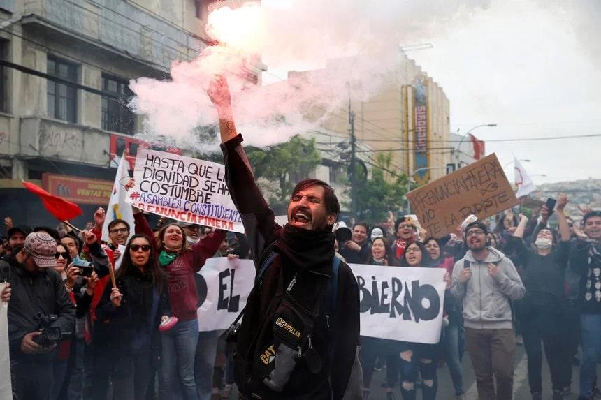 Atos No Chile – Rodrigo Garrido