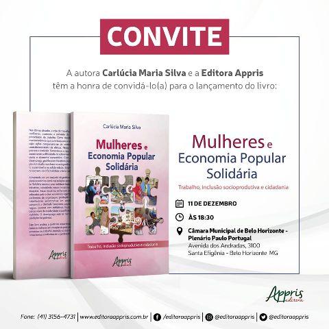 """Livro """"Mulheres E Economia Popular Solidária"""""""