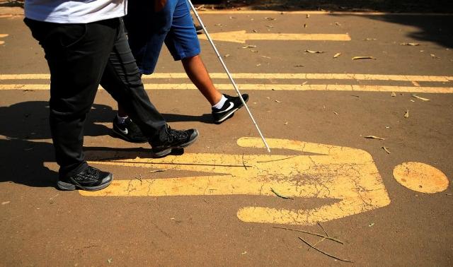 Brasilia DF 21 09 2019 A 1ª Caminhada Nacional Da Luta Dos Direitos Das Pessoas Com Deficiência No Parque Da Cidade, Em Brasília Foto Marcello Casal JrAg. Brasil