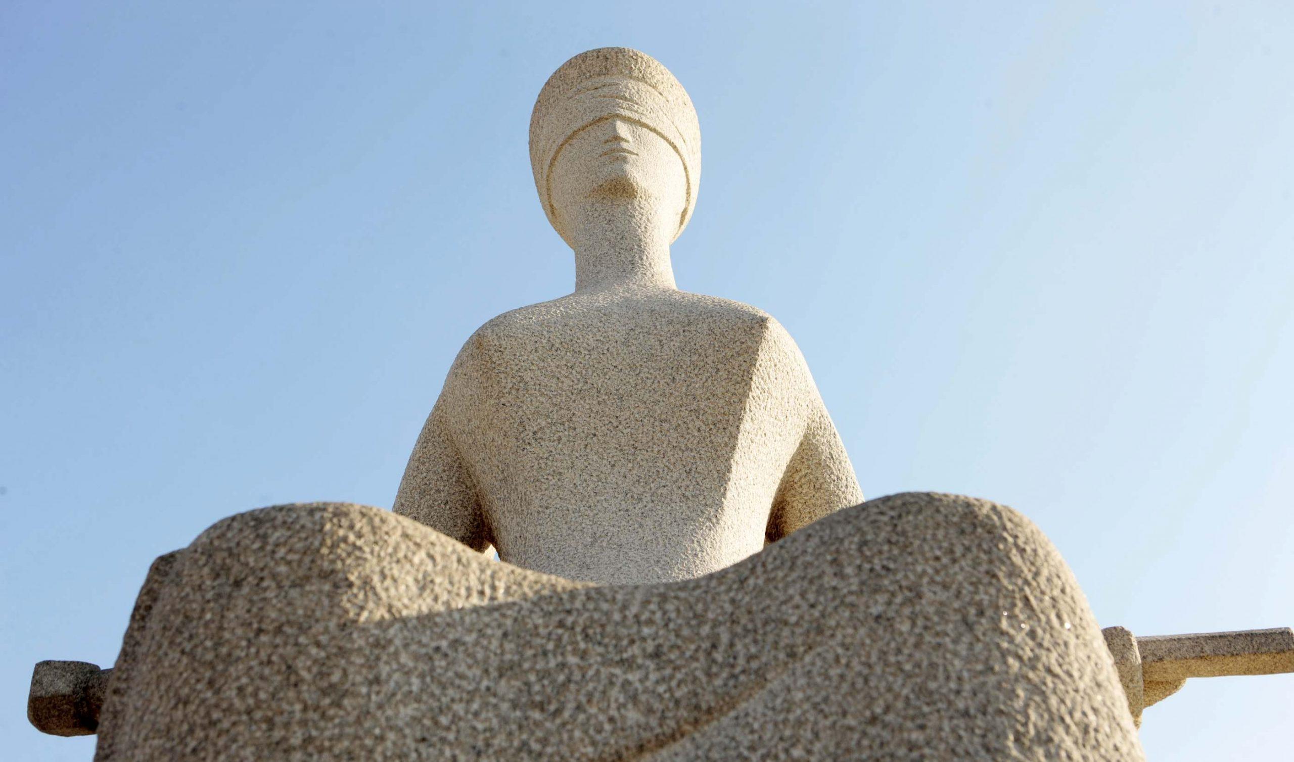 Estátua Da Justiça – STF – Gil Ferreira