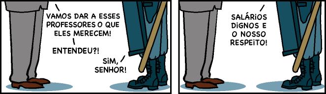 Policiais E Professores – Armandinho