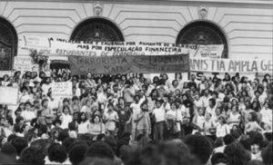 Ato público pela Anistia. Rio de Janeiro, 1979. Arquivo Nacional, Serviço Nacional de Informações