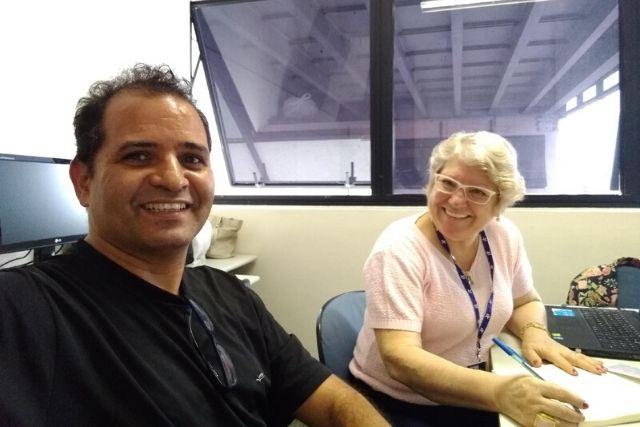Dra. Maria Delourdes Maciel E Prof. Pedro Xavier – Pesquisadores Do NIEPCTS UNICSUL