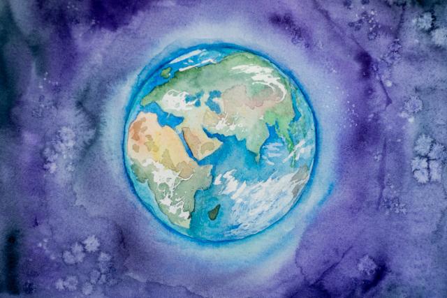 Ilustração Planeta – Elena Mozhvilo Unsplash