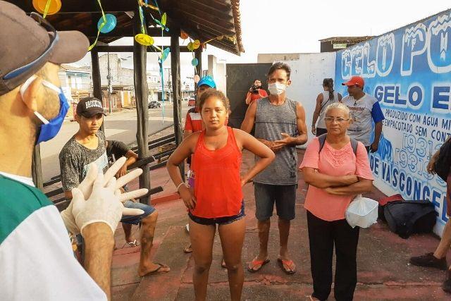 Atendimento Social No Pará – Ronilma Santos   Ascom CRGSP
