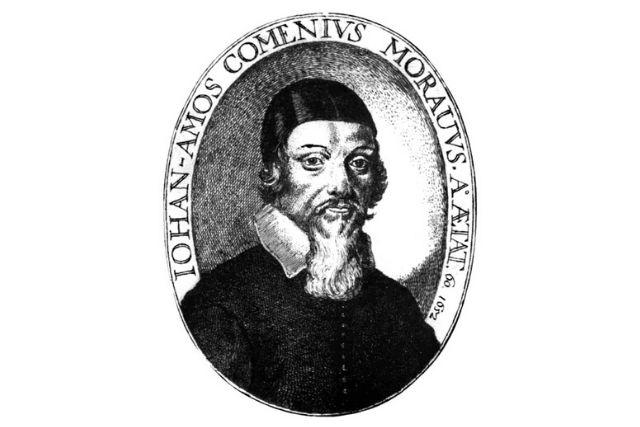Emblema Johann Amos Comenius.