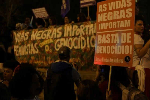 Ato De Mulheres Negras E Indígenas, Na Praça Roosevelt – Paulo Pinto  Agência PT