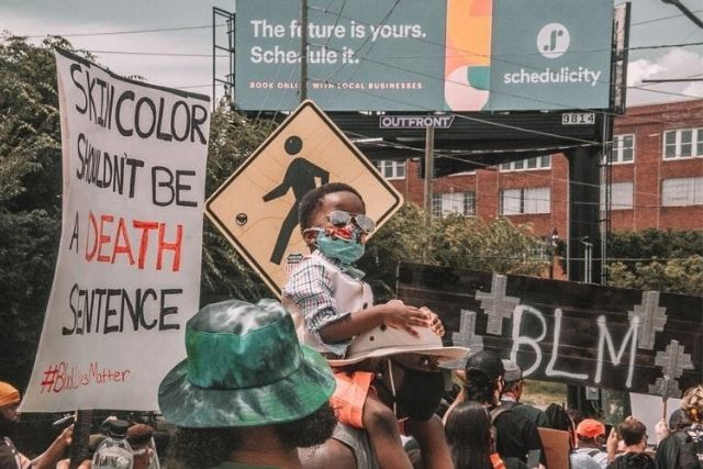 Ato Do Movimento Black Lives Matter Em Atlanta GA USA. @mcoswalt   Unsplash
