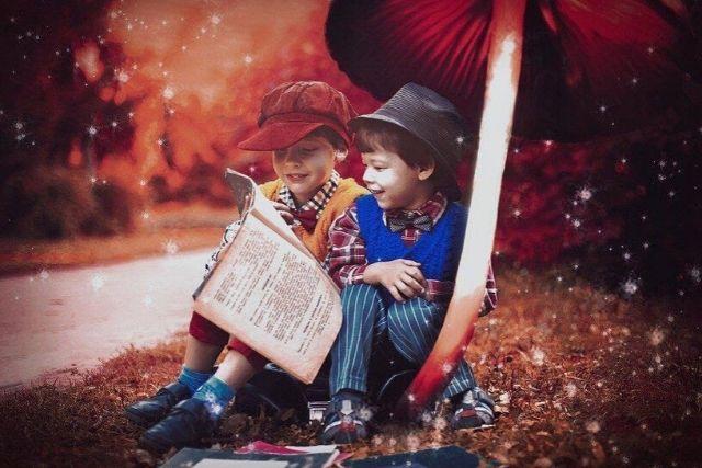 Crianças Lendo – Victoria Borodinova   Pixabay