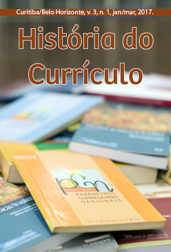 História do Currículo – Ano 2, v. 3, n. 3, jan./mar. 2017.