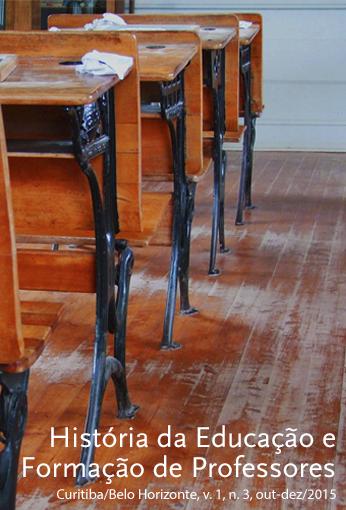 História da Educação e Formação de Professores – Ano 1, vol. 1, n. 3, out-dez/2015