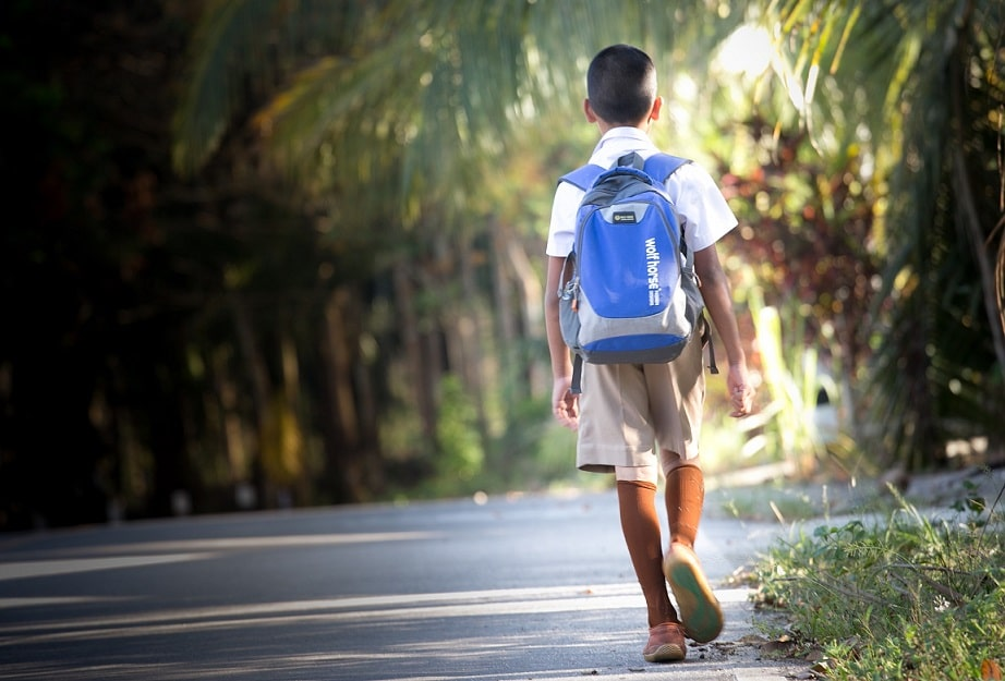 Menino No Caminho Para A Escola Número 6 Destaque 07 RBEB Redimensionada