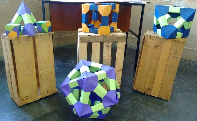 Um Olhar Sobre A Geometria Através Da Prática De Origami