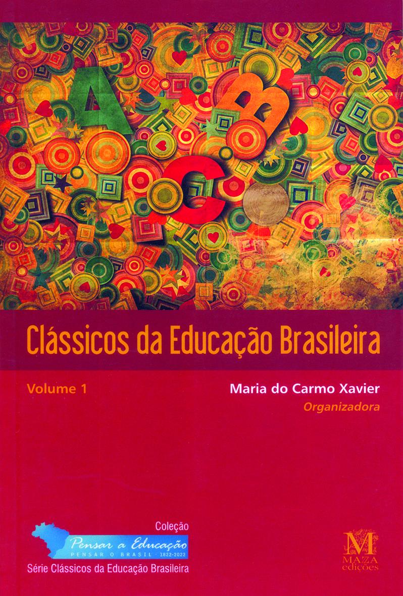 Capa Do Livro Clássicos Da Educação Brasileira Volume 1