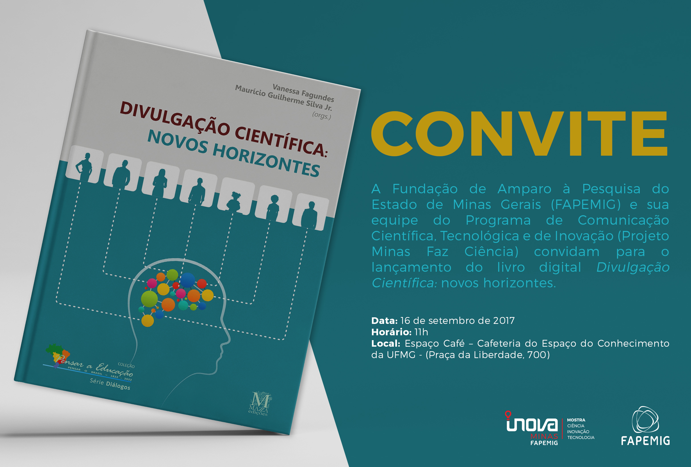 PEPB E Minas Faz Ciência Lançam E-book Sobre Divulgação Científica