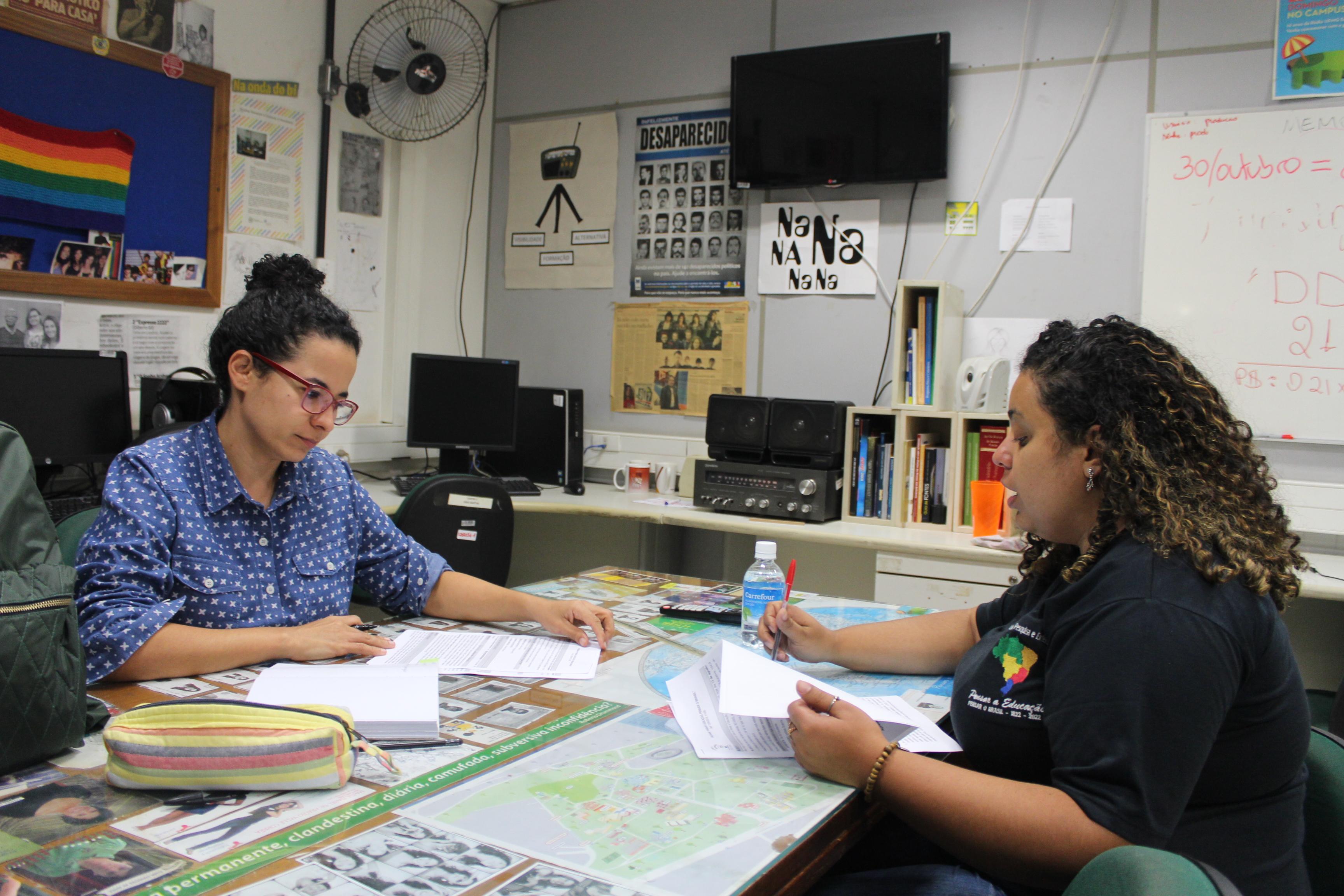 Vanessa Macedo E Yolanda Assunção Na Rádio UFMG Educativa