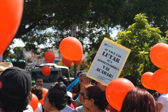A Luta Contra A Reforma Da Previdência