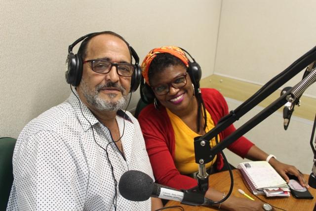 Gilson Ferreira E Luciana Matias. Foto: Diogo Nascimento.