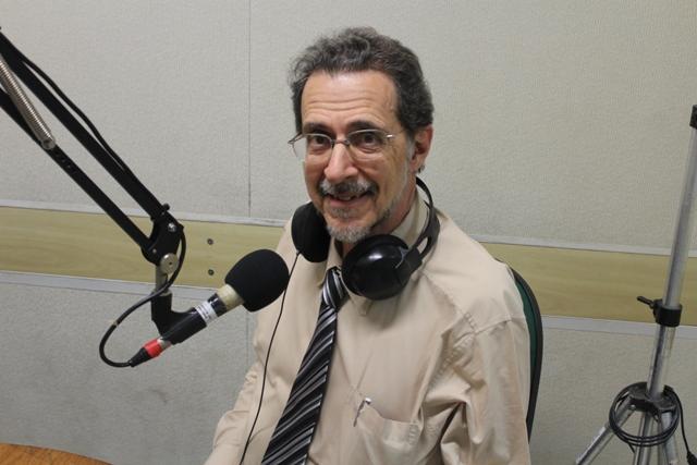Professor Paulo Sergio Beirão. Foto: Diogo Nascimento