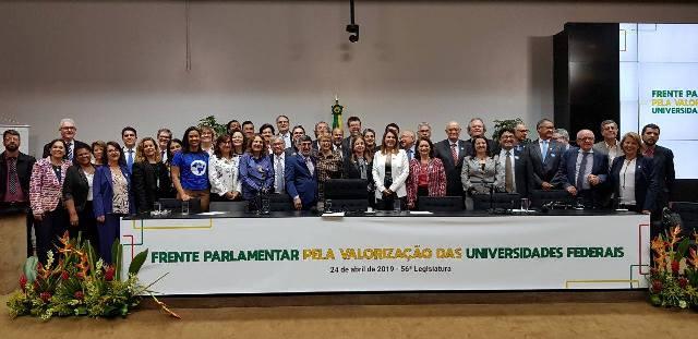 Lançamento Da Frente Parlamentar Pela Valorização Das Universidades Federais Foto Ramênia Vieira ACS Dep Margarida Salomão