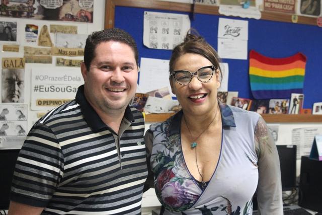 Maurício Gulherme E Valéria Raimundo. Foto: Diogo Nascimento