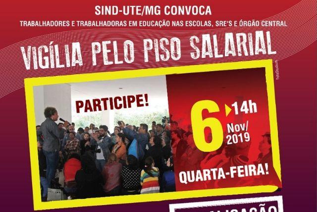A Luta Dos Professores De Minas Gerais Pelo Pagamento Do Piso Salarial Profissional E Do 13º De 2019