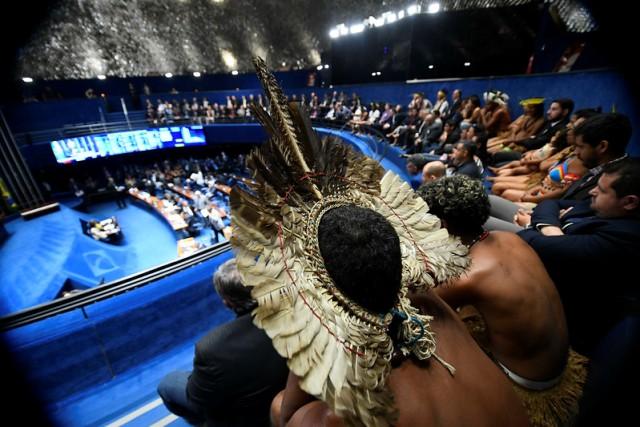 Indígenas No Congresso – Marcos Oliveira Agência Senado (1)